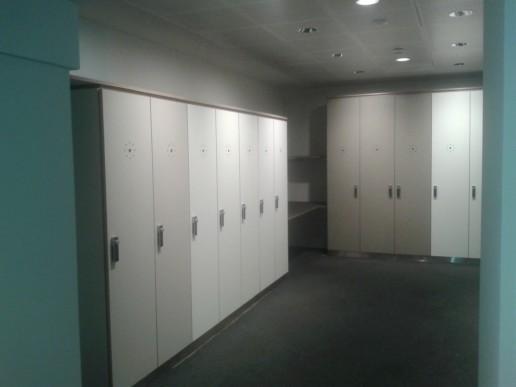 Lockerdeurtjes Concertgebouw, meubelmaker amsterdam cabinetmaker custom furniture op maat gemaakt maatwerk meubels