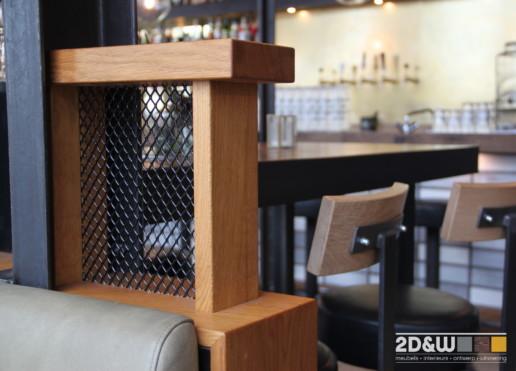 bar karaat detail bank achterkant meubelmaker amsterdam cabinetmaker custom handmade furniture op maat gemaakt maatwerk meubels