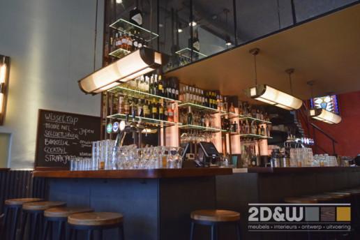 bar lampen messing glas meubelmaker amsterdam cabinetmaker custom handmade furniture op maat gemaakt maatwerk meubels