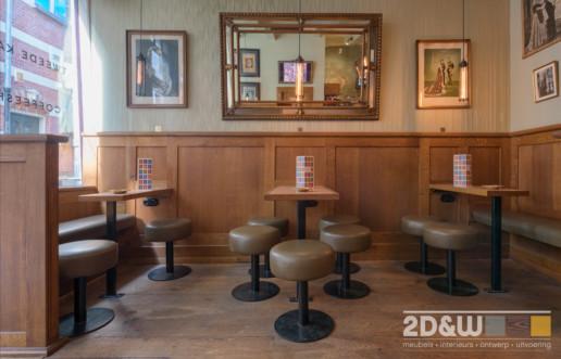 coffieshop tweedekamer amsterdam interieur meubelmaker amsterdam cabinetmaker custom handmade furniture op maat gemaakt maatwerk meubels