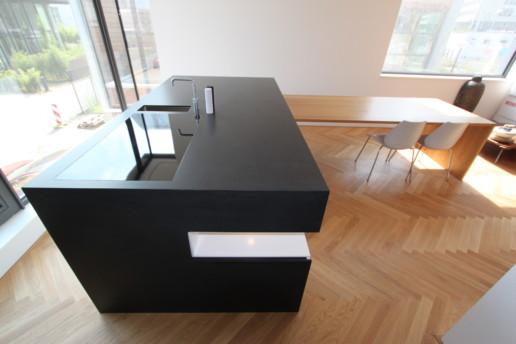 keuken eiland silestone blad meubelmaker amsterdam cabinetmaker custom handmade furniture op maat gemaakt maatwerk meubels