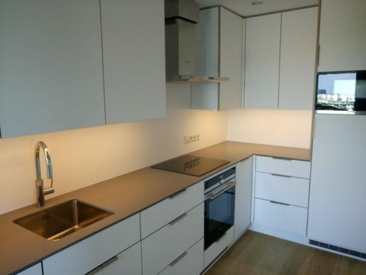 keuken berken multiplex silestone blad meubelmaker amsterdam cabinetmaker custom handmade furniture op maat gemaakt maatwerk meubels