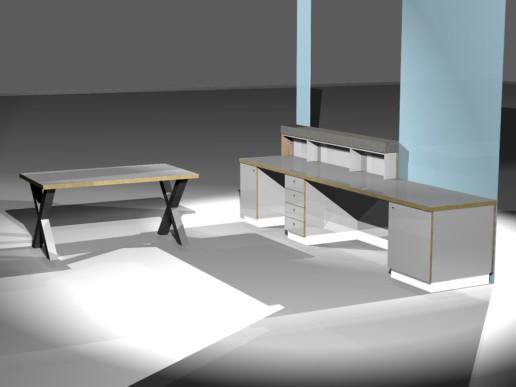 rendering render balie meubelmaker amsterdam cabinetmaker custom handmade furniture op maat gemaakt maatwerk meubels