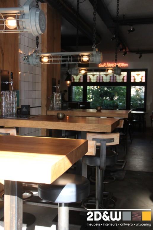 bar cafe biertafels meubelmaker amsterdam cabinetmaker custom handmade furniture op maat gemaakt maatwerk meubels