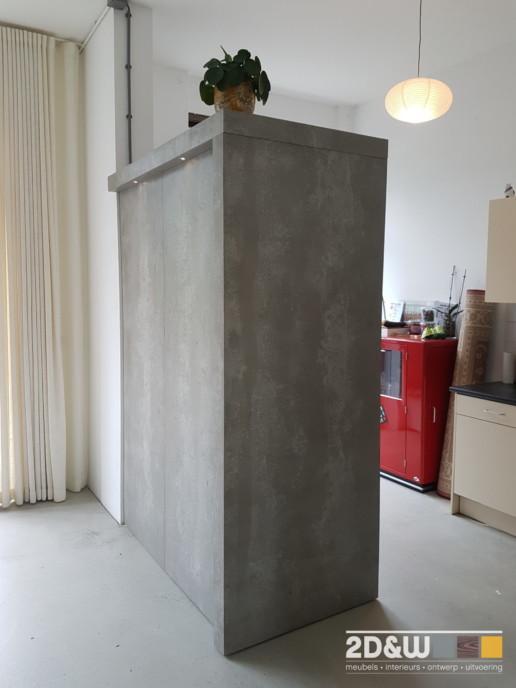 meubelmaker amsterdam cabinetmaker custom handmade furniture op maat gemaakt maatwerk meubels roomdivider bank kapstok beton betonlook lades