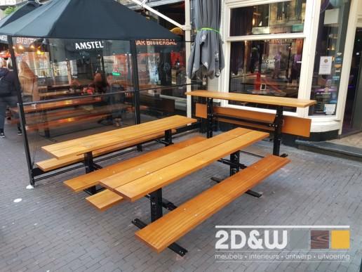 meubelmaker amsterdam cabinetmaker custom handmade furniture op maat gemaakt maatwerk meubels klaptafels eigen ontwerp staal logo hout tafel bank